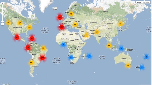 MAP CAI FOLLOWERS